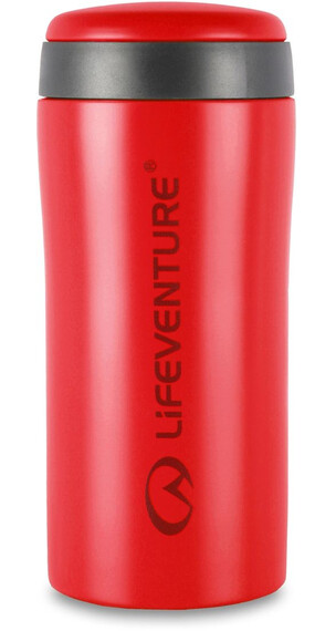 Lifeventure Thermal Mug Matt Red (9530MR)
